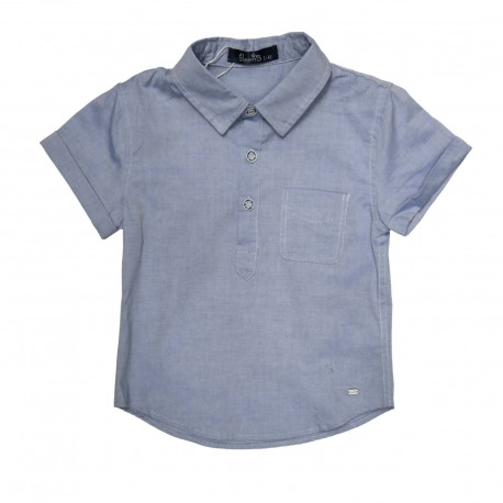 Ethan Top (Blue)