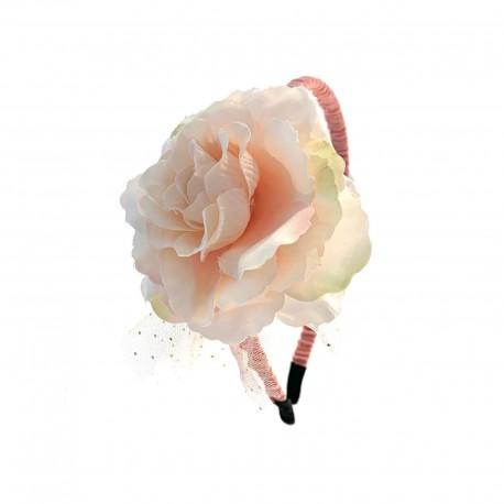 Flower Headband - Soft Pink