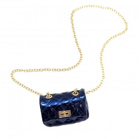 Quilted Mini Cross-body Handbag