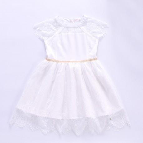Isabelle Dress - White