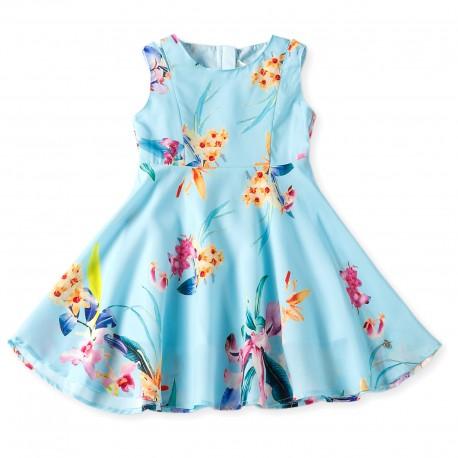 Jenna Dress - Light Blue