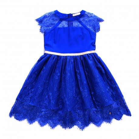 Isabelle Dress - Electric Blue