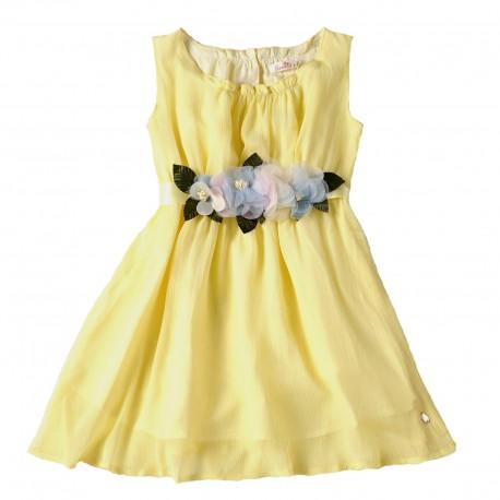 Livia Dress - Yellow