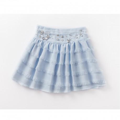 Emily Skirt (Light-blue)